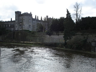 kilkenny castle from a distance