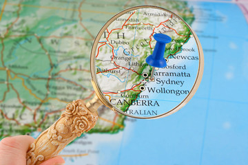 sydney map tack