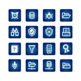 file server icons poster