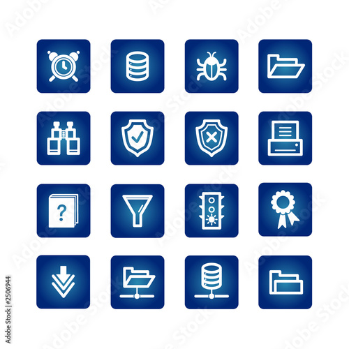 poster of file server icons