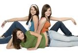 3 teenage girls poster