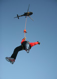 helicopter hoist hiro poster