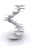 corporate ladder illustration poster