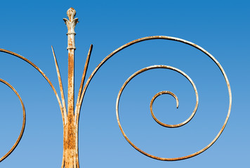 spirale rouillée