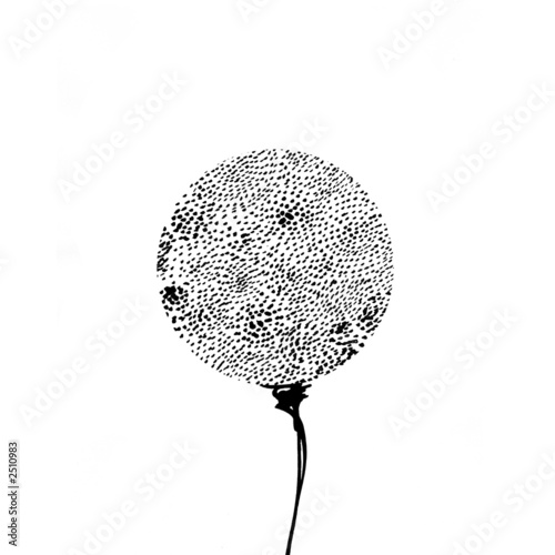 drawing of a dandelion © dowiliukas