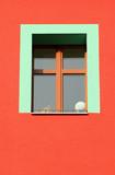 bare green window poster