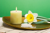 spring relaxation spa set poster
