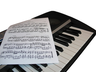 piano music note