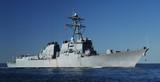 naval destroyer poster