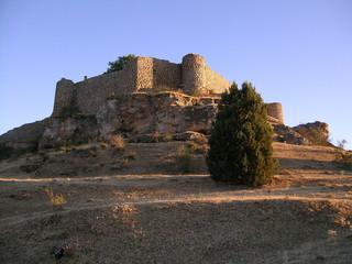 castillo de calatañazor, soria-spain