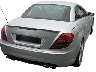 back of silver coupe
