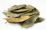 bay leaves in pale poster