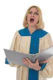 female choir member 3 poster