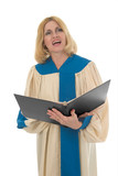 female choir member 2 poster
