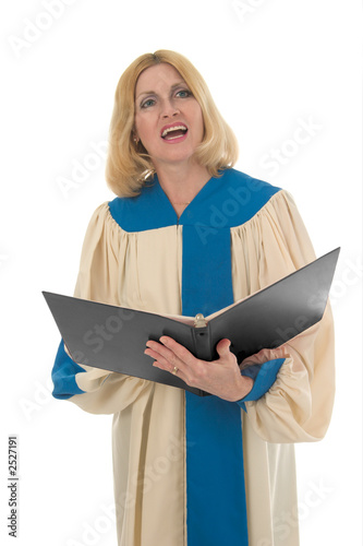 female choir member 2