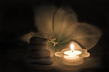 candlit spa