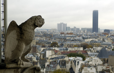 gargoyle and montparnasse tour