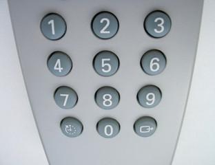 remote control close-up