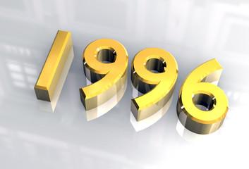 simbolo 1996 in oro