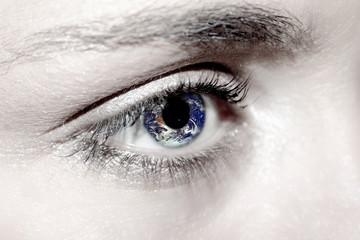 oeil et terre
