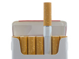 pack of cigarettes, close-up poster