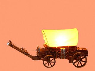 miniature wagon  50953
