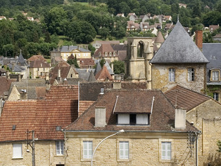 sarlat village