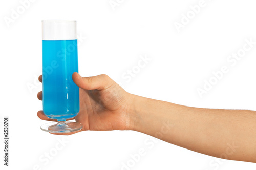 here is your drink