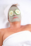 clay beauty mask poster