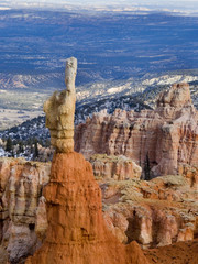 bryce canyon. fragment