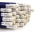 pencils with rubber tops poster