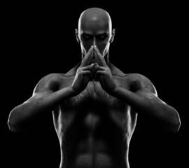 zen male #1 bw