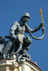 bronze fireman