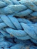 corde bleue poster