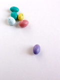 speckled eggs poster