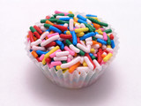 cupcake with sprinkles poster