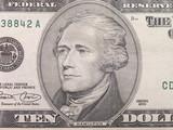 ten dollar bill hamilton 1 poster