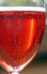 verre de champagne rose