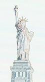 liberty sketch poster