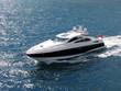 Leinwanddruck Bild - speed boat