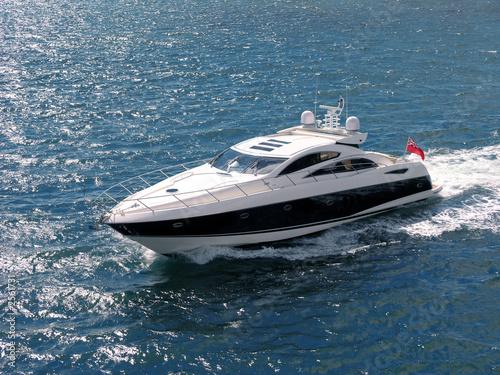 Leinwanddruck Bild speed boat