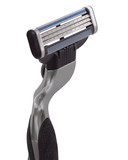 safety razor close up poster
