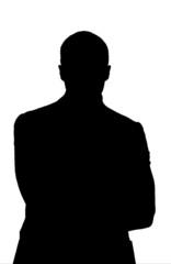 silhouette uomo business