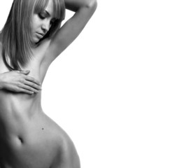 nude elegant girl.