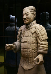 the chinese terracotta soldier