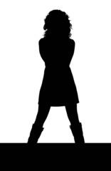 silhouette donna sexy