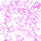 pink pattern gift wrap poster