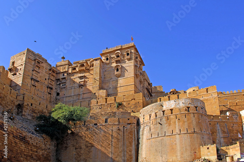 india, rajasthan, jaisalmer: fort