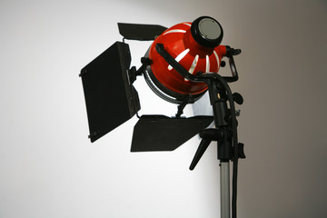film and tv studio lamp