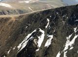 granite peak summit view poster